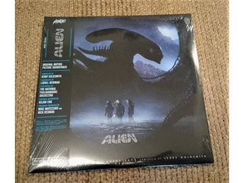 Alien Motion Picture Soundtrack 2X LP Ny