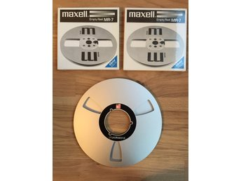 Empty Reel  maxell MR-7, BASF, 3 rullband