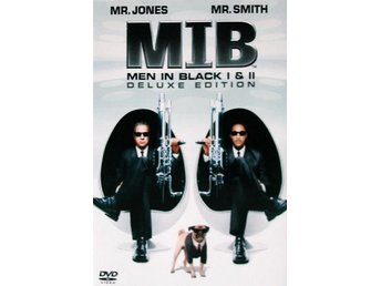 MIB Men in Black I & II Deluxe Edition (3-Disc) DVD i NYSKICK