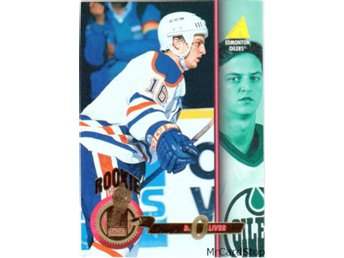 1994-95 Pinnacle 490 David Oliver RC, ROO Edmonton Oilers
