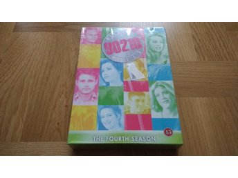 INPLASTAD DVD-box Beverly Hills 90210 Fourth Season Säsong 4 svenska undertexter