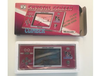 NYTT CLIMBER CRYSTAL SCREEN Nintendo Game & Watch Komplett