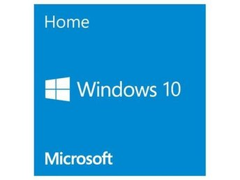 Microsoft Windows 10 Home English 64-bit, Single OEI, DVD