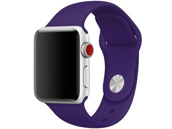 Silicon Band 42/44mm Apple Watch Armband - (ULTRA VIOLET)
