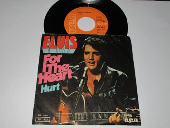ELVIS PRESLEY SINGEL FOR THE HEART