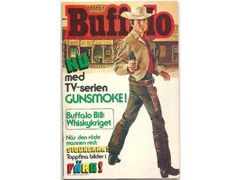 Buffalo Bill 1974 Nr 6 VF- - Vikingstad - Buffalo Bill 1974 Nr 6 VF- - Vikingstad