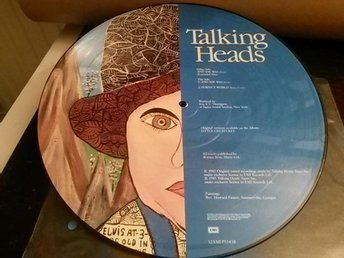 "TALKING HEADS - And she was/Perfect world - Maxisingel,12"" - Bildskiva - 1985"