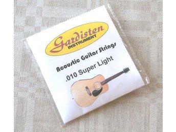 Stålsträngar, strängar till akustisk gitarr. Super Light - Eskilstuna - Stålsträngar, strängar till akustisk gitarr. Super Light - Eskilstuna