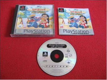 LILO & STITCH till Sony Playstation PSone