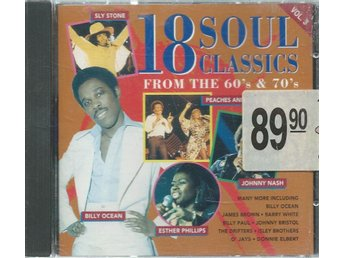18 SOUL CLASSICS - FROM THE 60´S & 70`S