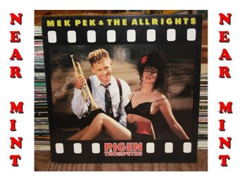 ***NEAR MINT*** --- MEK PEK & THE ALLRIGHTS -PIGEN & TROMPET