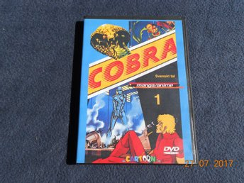 COBRA del 1 DVD Manga Anime Svenskt tal Thomas Bolme - Gävle - COBRA del 1 DVD Manga Anime Svenskt tal Thomas Bolme - Gävle