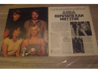 ABBA Rare Clippings Holland 1981