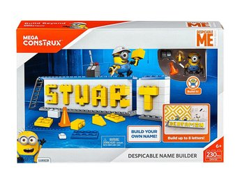 Mega Bloks Despicable Me Stuart Name Builder