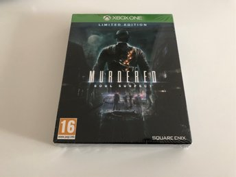 Xbox One-spel - Murdered: Soul Suspect Limited Edition, NYTT / INPLASTAT