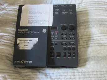 ROLAND MIDI PLAYER SD 35   SOUND CANVAS