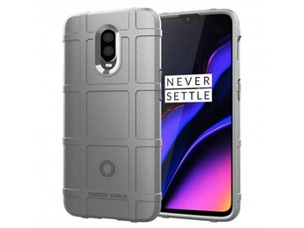 Rugged Shield skal OnePlus 6T (A6010) Färg: Grå