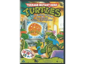 Teenage Mutant Hero Turtles - The killer pizzas - Svenskt tal