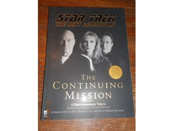 STAR TREK - The Next Generation - The Continuing Mission, stor bok USA 1998