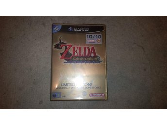 The legend of Zelda windwaker limited edition inkl ocarina of time Master quest