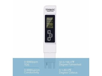 Akvarium PH Meter Digital Tester Water Quality Purity Tester TDS
