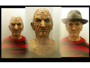 NIGHTMARE ON ELM STREET FREDDY KRUEGER HATT FEDORA REPLICA TRÖJA  HORROR SKRÄCK