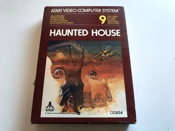 ATARI 2600 - Haunted House CX2654 Inkl låda & manualer (obruten förpackning) (2)