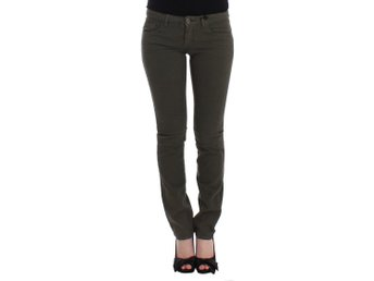 Costume National - Green slim leg jeans