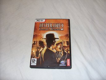 Desperados Coopers Revenge 2 PC DVD ROM Atari 2006 Engelsk Strategy Wild West