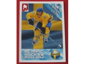 2014 ICE Olimpic hockey Sochi Carl Hagelin # 129