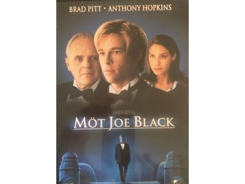Möt Joe Black, DVD med Anthony Hopkins och Brad Pitt