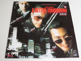 A BETTER TOMORROW (Laserdisc) John Woo