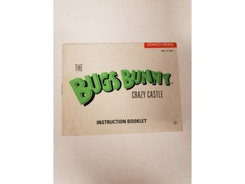 Bugs Bunny Crazy Castle - Manual NES NINTENDO - USA