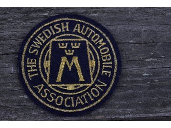 Tygmärke The Swedish Automobile Association 8cm
