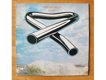 MIKE OLDFIELD -- TUBULAR BELLS --- 1973.  Made in Westen Germany