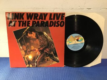Link Wray - Live At The El Paradiso Swe Orig-80 !!!!!