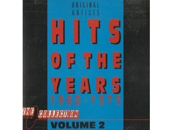 Hits Of The Years 1960-1975 Vol. 2  CD-skiva