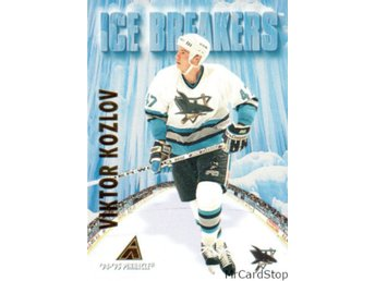 1994-95 Pinnacle 477 Viktor Kozlov IB San Jose Sharks