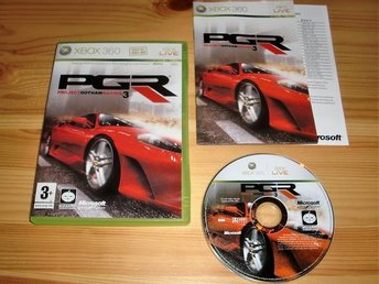 Xbox 360: Project Gotham Racing 3