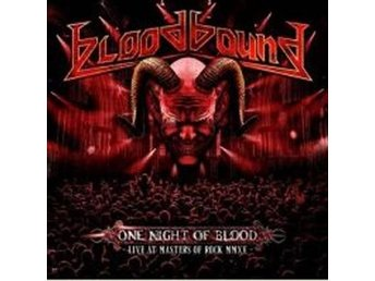 Bloodbound: One night of blood / Live 2015 (CD + DVD)