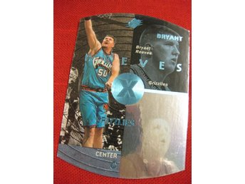 BRYANT REEVES  - UD SPX 1997-98 - PARALLEL - VANCOUVER GRIZZLIES - BASKET