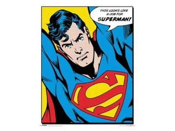 Superman Miniaffisch Quote M152