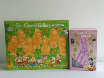 Disney Snow White & LIttle Drawfs 3D Crystal Puzzle Sets of 2, BRAND NEW - Mainz - Disney Snow White & LIttle Drawfs 3D Crystal Puzzle Sets of 2, BRAND NEW - Mainz