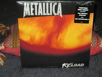 METALLICA - RELOAD   2lp  US  ORIG 1997   Mint