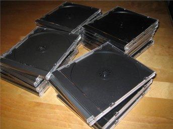25 st CD-fodral. ANvända men hela och fina. - örebro - 25 st CD-fodral. ANvända men hela och fina. - örebro