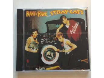 Stray Cats - Rant n Rave ,Ny Inplastad