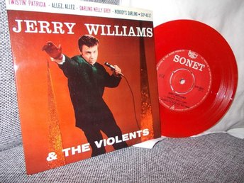 EP  Jerry Williams  --  Darling Nelly Grey