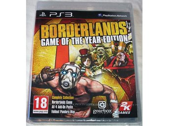 Borderlands - Game of the Year Edition (PS3) **HELT NY**