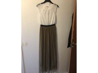 Zara klänning maxi