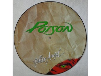 "POISON 'Fallen Angel' 1988 UK 12"" picture-disc"